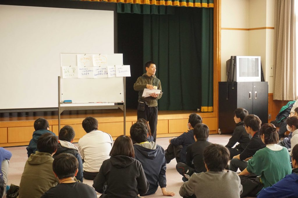 4/23-25東京海上日動さま新入社員研修でした。